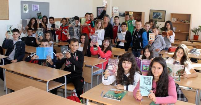 Маратон на четенето със средношколци