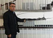 """Инж. Хасан Азис: Общината предприема първи спешни мерки за пропадналото стълбище в СУ """"Отец Паисий"""""""