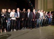 """Ахмед Осман и Ергюнал Сабри са тазгодишните носители на """"Спортист на годината"""""""