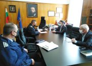 Д-р инж. Хасан Азис  и старши комисар Атанас Илков проведоха работна среща за отварянето на парковете за граждани